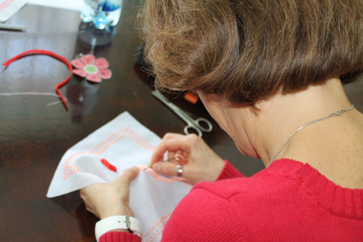 Техніки вишивання стрічками