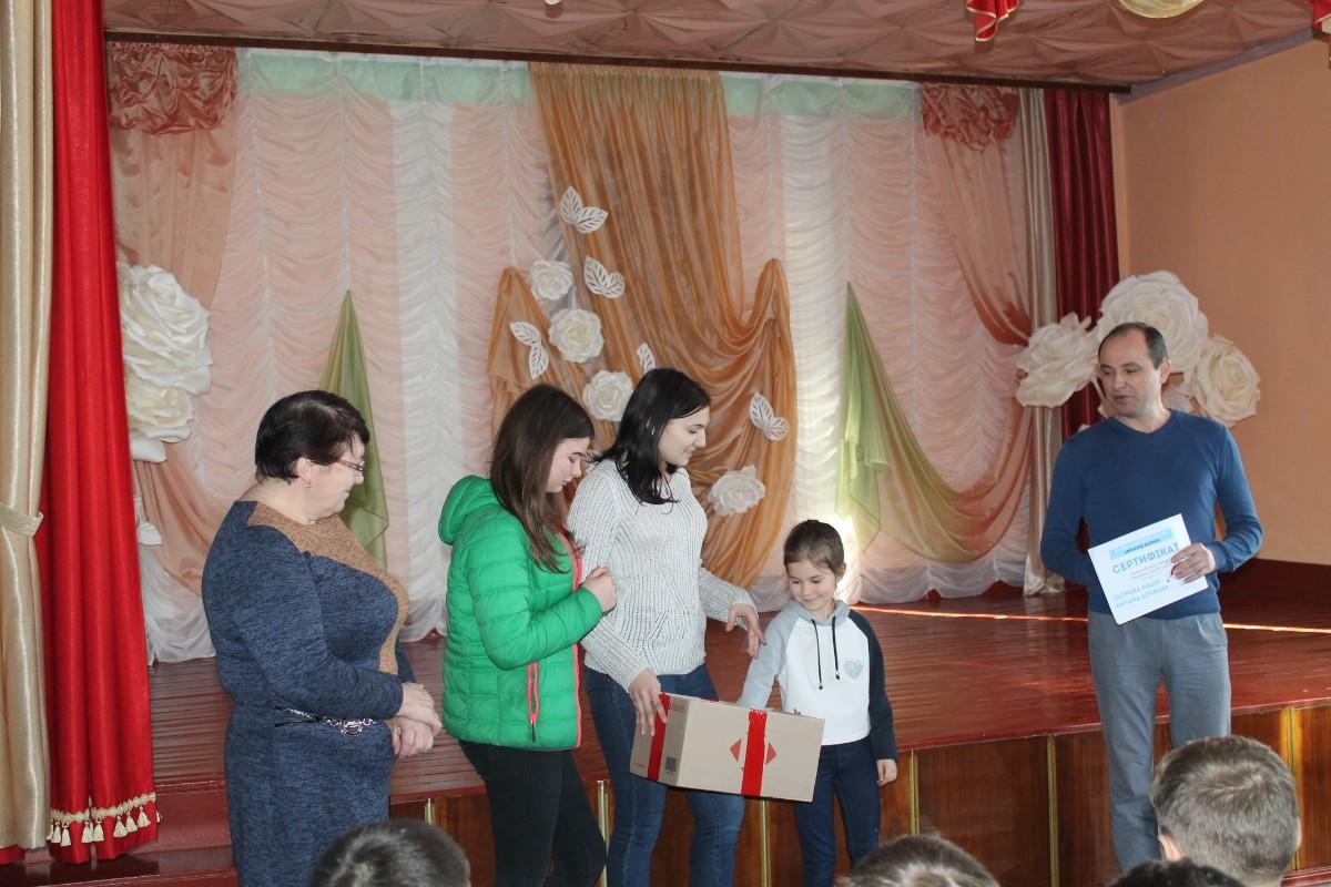 У школі тренери СК «Преслав»