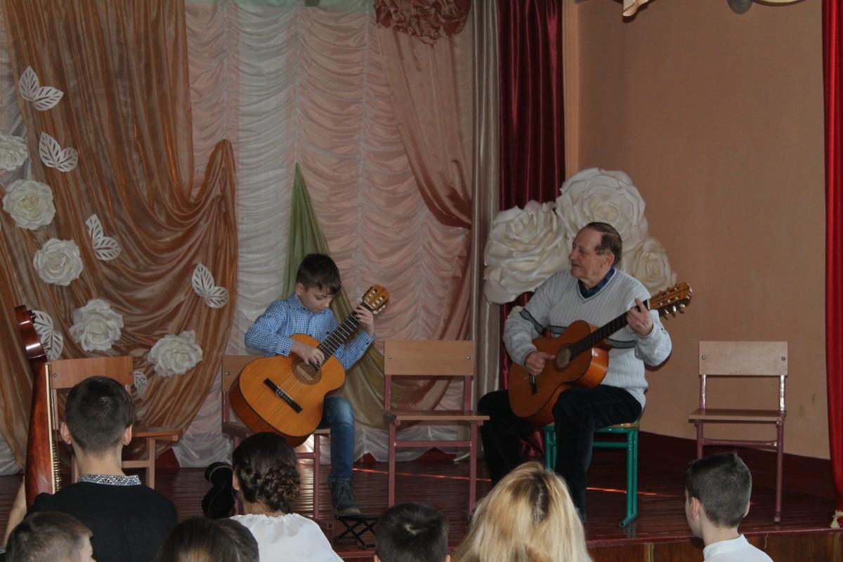 У нас в гостях музична школа